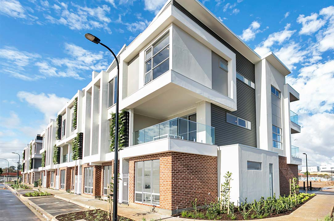 External image of the completed display home at Prospect 1838
